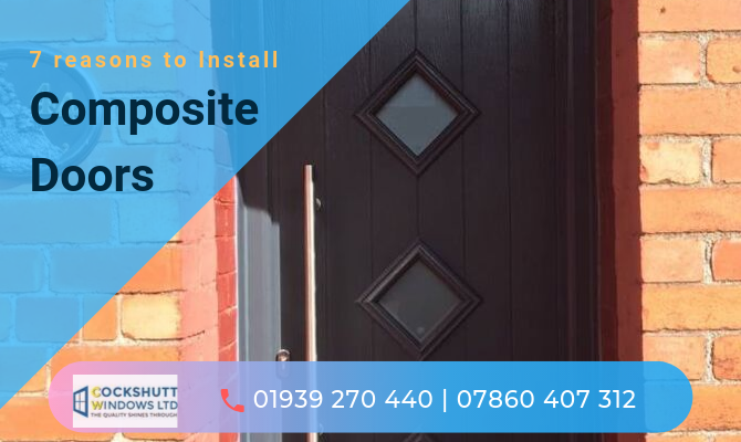 7 reasons to Install Composite Doors for Increasing Curb Appeal