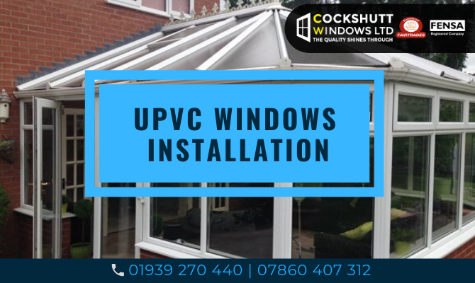UPVC windows installation in Shropshire